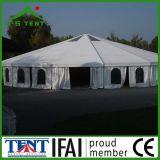 Tienda los 5mx5m al aire libre hexagonal de la pagoda del partido de jardín del pabellón