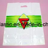 Умрите хозяйственная сумка ручки отрезока Biodegradable пластичная