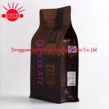 Poche de Guesset de côtés de la qualité huit pour le sac de empaquetage de café