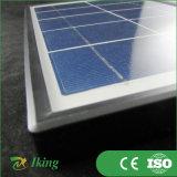 poli comitato solare 5W con il blocco per grafici di plastica o il blocco per grafici d'acciaio di plastica