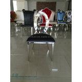De ovale AchterStoel van het Roestvrij staal voor het Restaurant van het Hotel (hw-0590C)