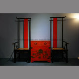 高の明王朝の中国様式の背部余暇の椅子(DW-1505C)