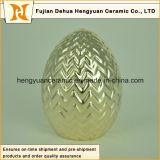 Forme de boule de mode avec galvanoplastie, mode moderne pour la décoration intérieure