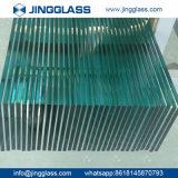 Vidro temperado cheio liso do vidro de flutuador da segurança de construção do edifício
