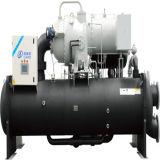 Unidad centrífuga refrigerada por agua de la agua fría para el uso industrial