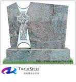Monument van de Grafsteen van het Graniet van Paradiso het Rechte DwarsVorm Gesneden
