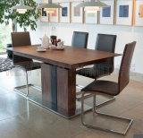 Tabelas de jantar do mármore do projeto da sala de jantar de Hotsale com cadeiras (NK-DT218-1)