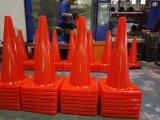 Le cône de sûreté flexible le meilleur marché de circulation routière de PVC de la Chine