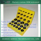 Набор колцеобразного уплотнения силикона Китая оптовый цветастый Viton