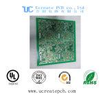 緑のはんだマスクが付いているモジュールを追跡するGPSのための液浸の金PCB