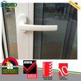 Projeto branco UPVC Windows da grade do frame e portas, UPVC Windows