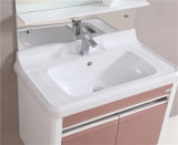 Plastikbadezimmer-Spiegel-Tuch-Schrank (B-8110)