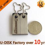 Laser/émerillon logo de Silkscreen/clé de mémoire USB tournante en métal (YT-3274L1)