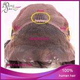 Peluca rizada china del frente del cordón del pelo humano