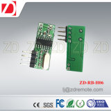 El mejor módulo de receptor del superheterodino 433MHz RF del precio para el dispositivo Zd-Rb-H02 de la automatización
