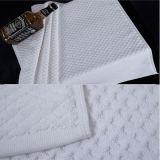 Do algodão 32s da cor esteira 100% de banho branca