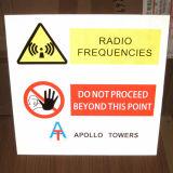 Placa de aluminio Personalizar la impresión de señales de advertencia de tráfico reflectante