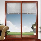 أرخص الالومنيوم الانزلاق النافذة مع مزدوجة الزجاج زجاج (FT-W126)