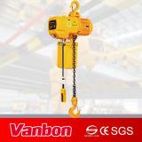 elektrische motorisierte Laufkatze der Kettenhebevorrichtung-5ton/manuelle Laufkatze/Aufhebung hakenförmig