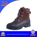Самая лучшая кожа замши Mens шнурует вверх ботинки снежка зимы (XD-359)