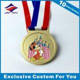 Medalha feita sob encomenda dos desenhos animados para a concessão & a lembrança