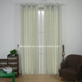 Jacquard classico Yarn Dyed e Piece Dyed Window Curtain