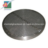 Evaporator (ZH-MP-012)를 위한 정밀도 Machined Tubesheet Heat Exchanger Plate