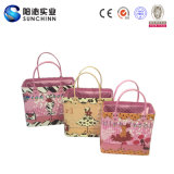I Love Roses Set 3 Pu Leather Handbag voor Women