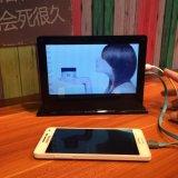 El USB vira el cargador 20000mAh de la batería hacia el lado de babor de la potencia externa del Portable para el iPhone 6 6s más la galaxia S7 S6 S5 HTC de 5s Samsung