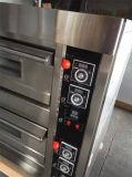 3 horno de panadería del pan del gas del acero inoxidable de la bandeja de la capa 6