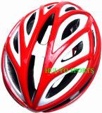 Vélo emballant le casque, casque de journal de temps, casque de vélo aérien