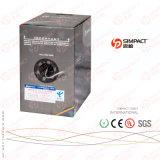 UL/CE/RoHS/ISO公認UTP Lszh Cm/Cmr Cat5eコミュニケーションケーブル