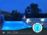 Luz subacuática RGB plano de la piscina de IP68 LED impermeable