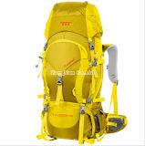 60L ao ar livre Waterproof o saco de acampamento dos ombros