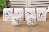 Vela perfumada natural de la cera de la soja de la decoración casera