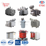 Transformator van de de op-ladings de kraan-Veranderende Distributie van Sczb10-250~2500kVA 11kv