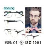 Großhandels-Entwurfs-Brillen Soem-ODM-Italien mit freien Objektiv-Metalbrillen