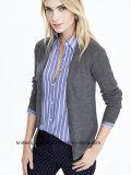 Кардиган свитера горячих сбываний способа девушки OEM длинний (W17-699)