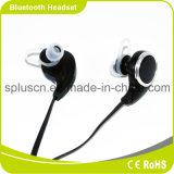 Auriculares estereofónicos de Bluetooth do preto clássico do projeto