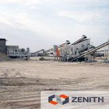 De nieuwe Gebouwde Installatie van de Stenen Maalmachine met 50-800tph
