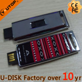 에폭시 돔 레이블 미끄러지는 소형 금속 USB 플래시 메모리