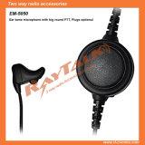 Écouteur d'os d'oreille avec de grandes PTTs de rond pour Motorola Dp1400