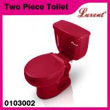 Precio barato de la forma redonda de la cerámica Sistema de Jet Siphonic 2PC inodoro