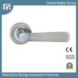 Poignée en alliage de zinc Rxz21 de serrure de porte de qualité