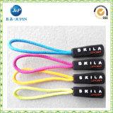 Boa qualidade azul em relevo Zipper Puller (JP-ZP026)