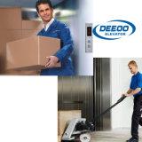 Elevador elétrico da carga do elevador de frete dos bens do armazém do melhor preço de Deeoo