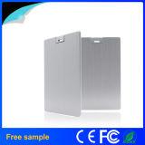 Aluminiumgeschäfts-Kreditkarte USB Pendrive 32GB