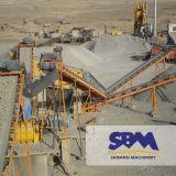 Sbm deutsche technische Bergbau-Mobile-Zerkleinerungsmaschine