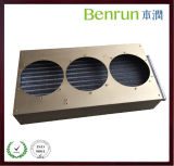 Aluminum Fin를 가진 3 Fan Copper Tube Condenser