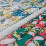 Tela impresa de la tela cruzada del poliester para la materia textil del hogar de la falda de la tapa de la alineada